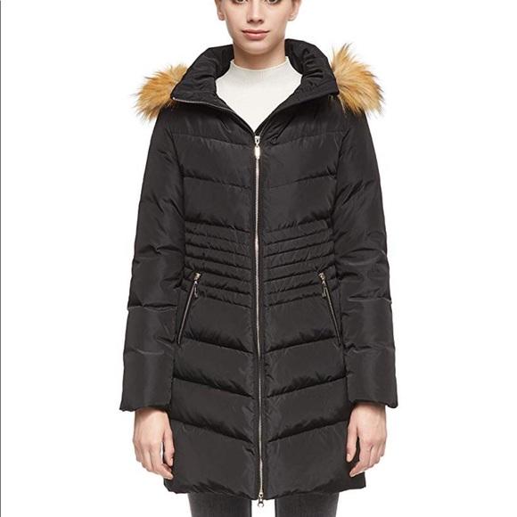 Black Long Parka Puffer Jacket